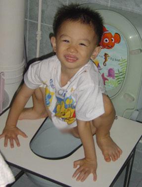 squatting boy, squatting position, squatting posture