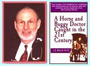 Dr Jerry Block, A Horse and Buggy Doctor Caught in The 21st Century, squatting, testimonial about squatting