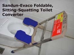 toilet converter, squatting