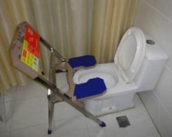 toilet converter, squatting platform