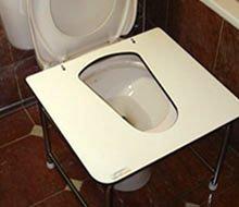 installation of toilet squatting platform