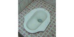 squat toilet, squatting toilet