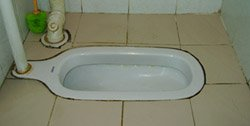 squatting toilet